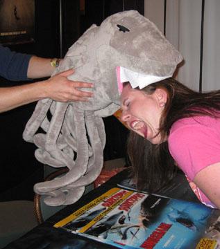 Sharktopus fucking tried to eat me!